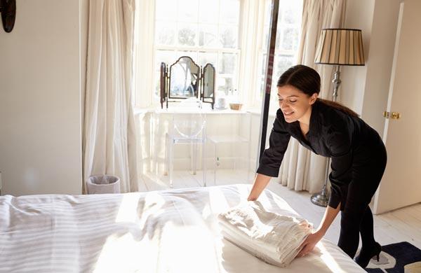 Bettwäsche reinigen und mieten